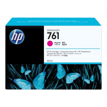 HP 761 - Cartouche d'impression magenta 400ml (CM993A)