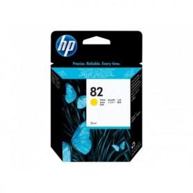 HP 82 - Cartouche d'impression jaune 69ml (C4913A)