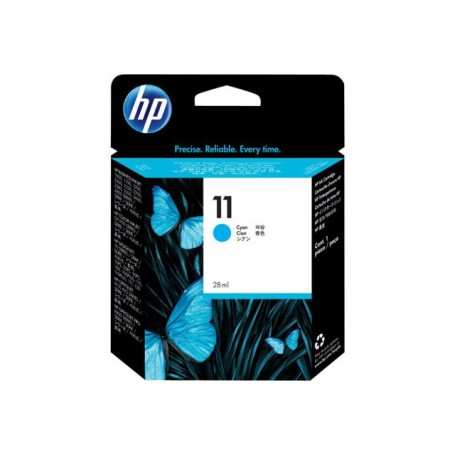 HP 11 - Cartouche d'impression cyan 28ml (C4836A)
