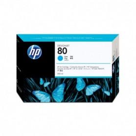 HP 80 - Cartouche d'impression cyan 350ml (C4846A)