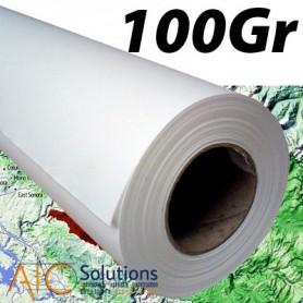 """ColorPrint HQ papier couché 100Gr 0,610 (24"""") x 50m"""