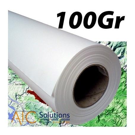 """ColorPrint HQ papier couché 100Gr 0,914 (36"""") x 50m"""
