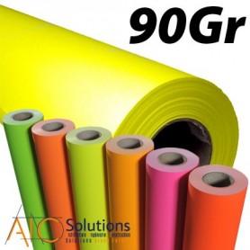 Papier PPC orange fluo 90gr 0,841 (A0) x 135m